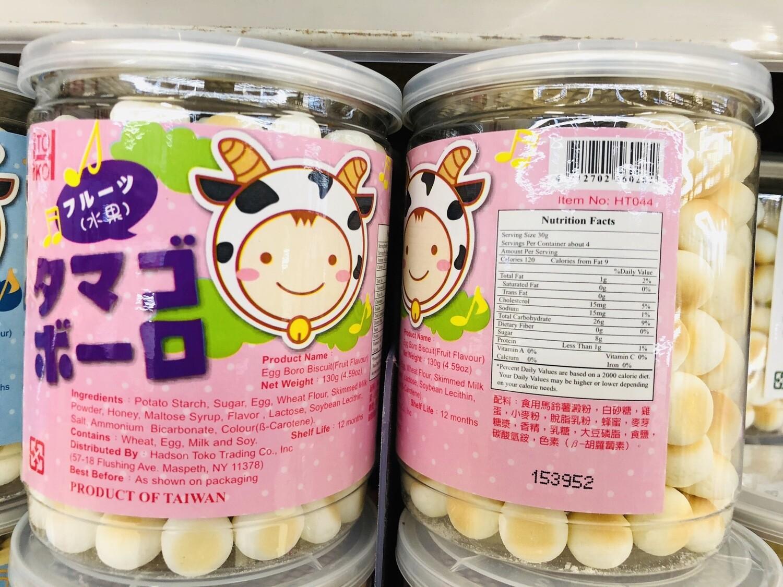 GROC【杂货】TOKO Egg Boro Biscuit原味~130g(4.59oz)