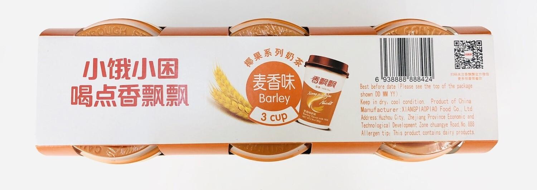 GROC【杂货】香飘飘椰果系列奶茶麦香味~3cup 2.80oz*3