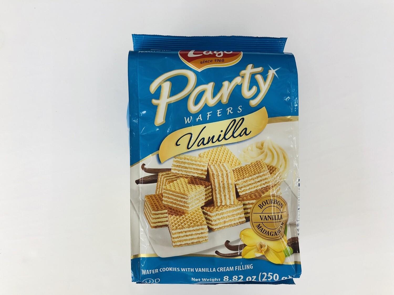 GROC【杂货】Lago Party Vanilla WAFERS~8.82oz(250g)