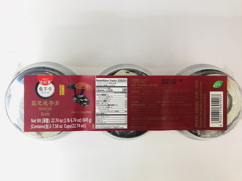 GROC【杂货】生和堂灵芝龟苓膏~22.74oz(645g)
