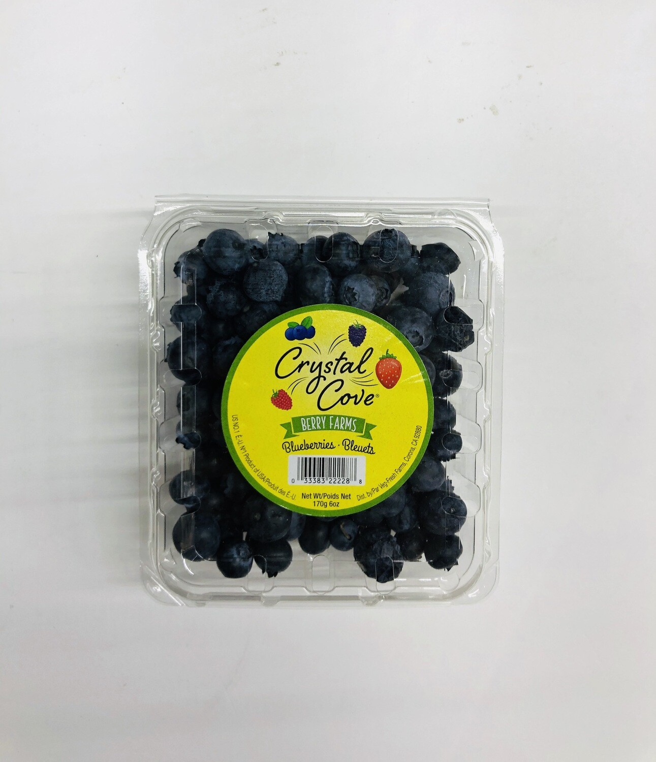 蓝莓 BLUEBERRIES BIEUETS ~1 BOX