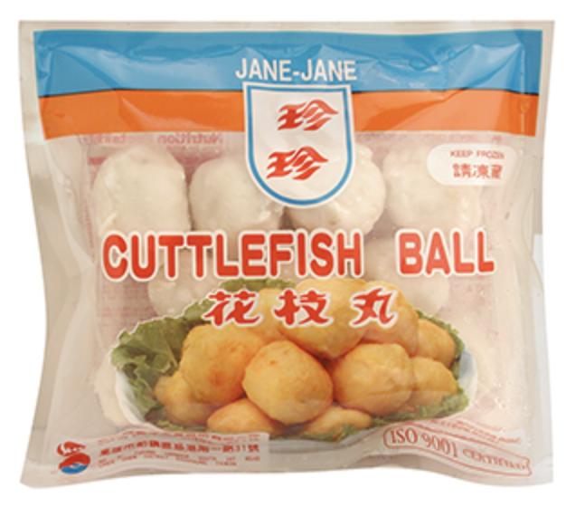 珍珍 花枝丸 ~226.8g(8oz) JANE-JANE CUTTLEFISH BALL 226.8g(8oz)