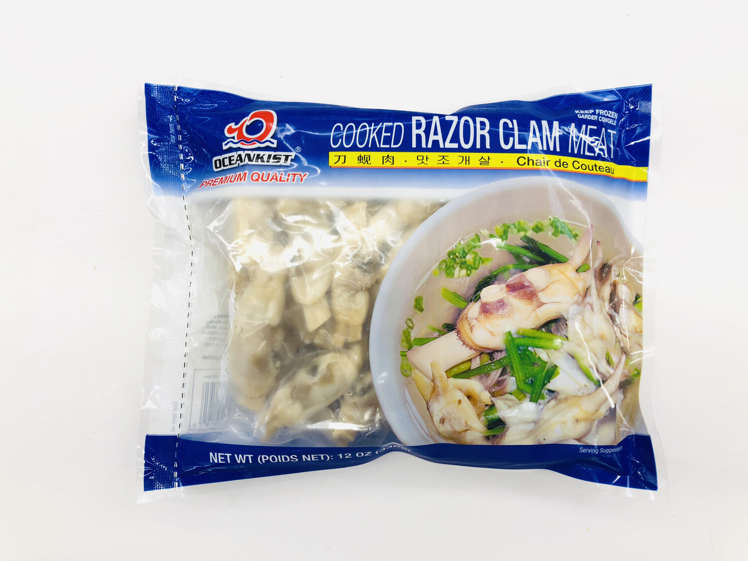 OCEANKIST 刀蚬肉 Cooked RAZOR CLAM MEAT 12OZ(336g)