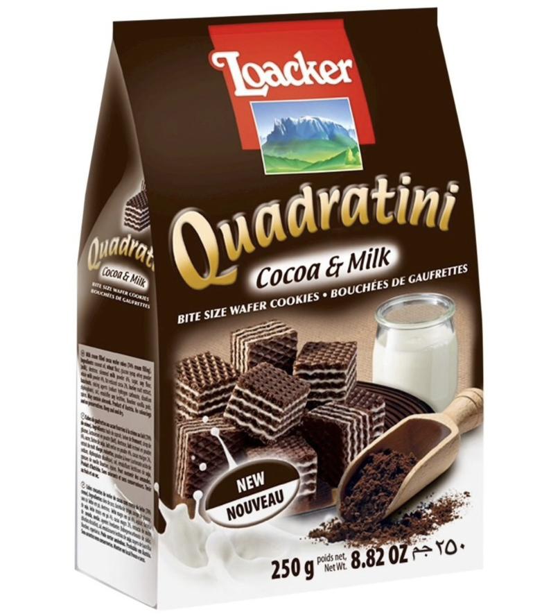GROC【杂货】Loacker Cocoa & Milk ~250g(8.82 OZ)