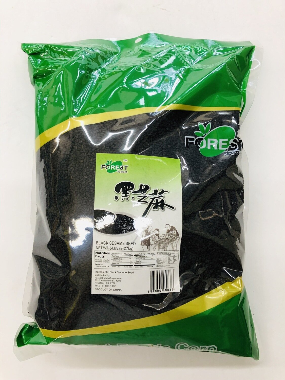 GROC【杂货】大森林黑芝麻~5LB(2.27kg)