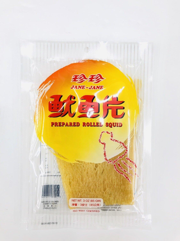 GROC【杂货】珍珍鱿鱼片~3oz(85g)