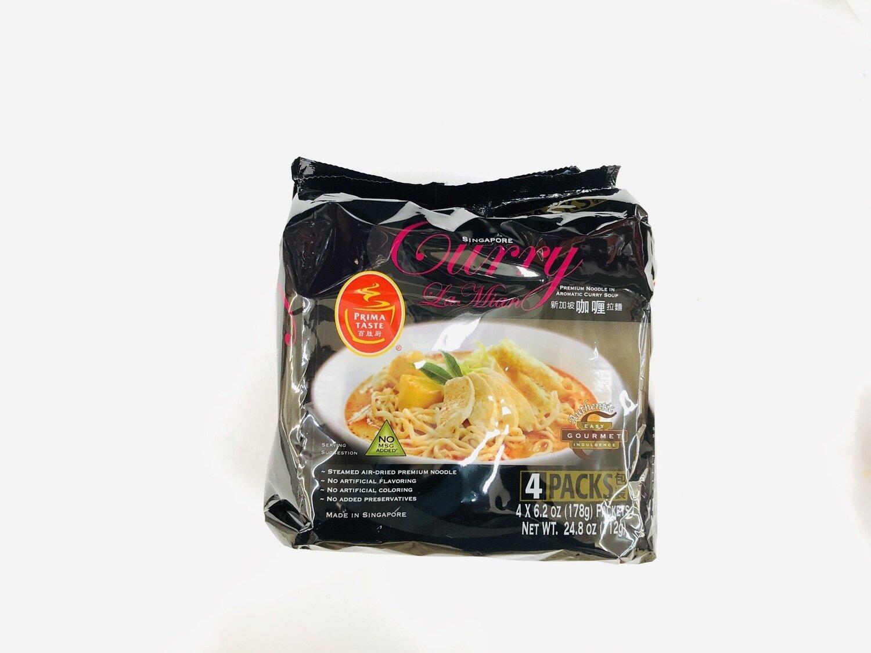 GROC【杂货】百胜厨新加坡咖喱拉面~4*6.2OZ(178g)