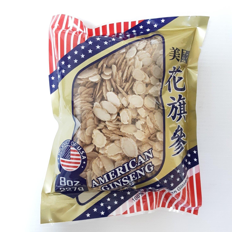 GROC【杂货】美国花旗参(袋装 切片) ~227g(8oz)