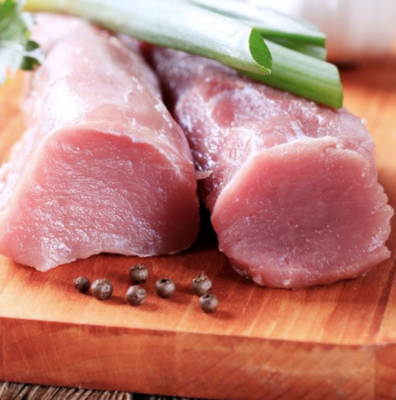 大里脊肉(猪排、锅包肉) ~1.2lbs Pork Loins 1.2lbs