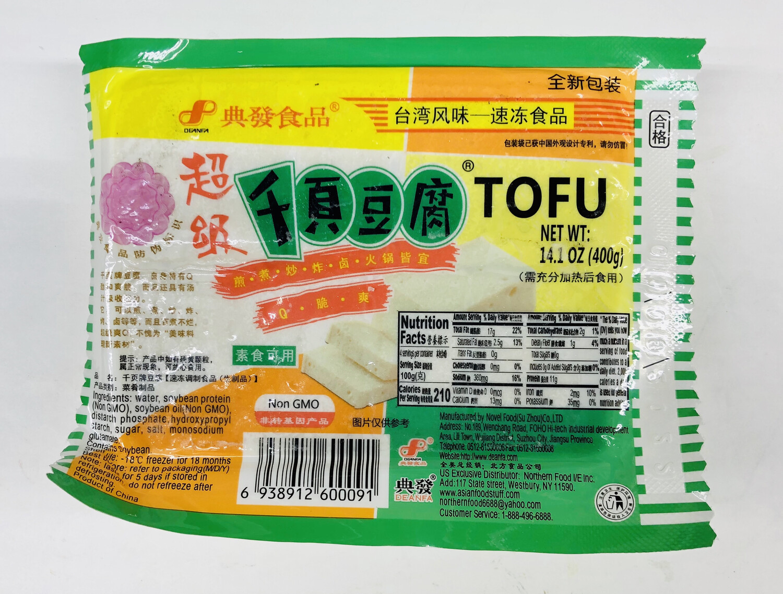 典发食品 超级千叶豆腐 DEANFA Super Chiba Tofu14.1oz(400g)
