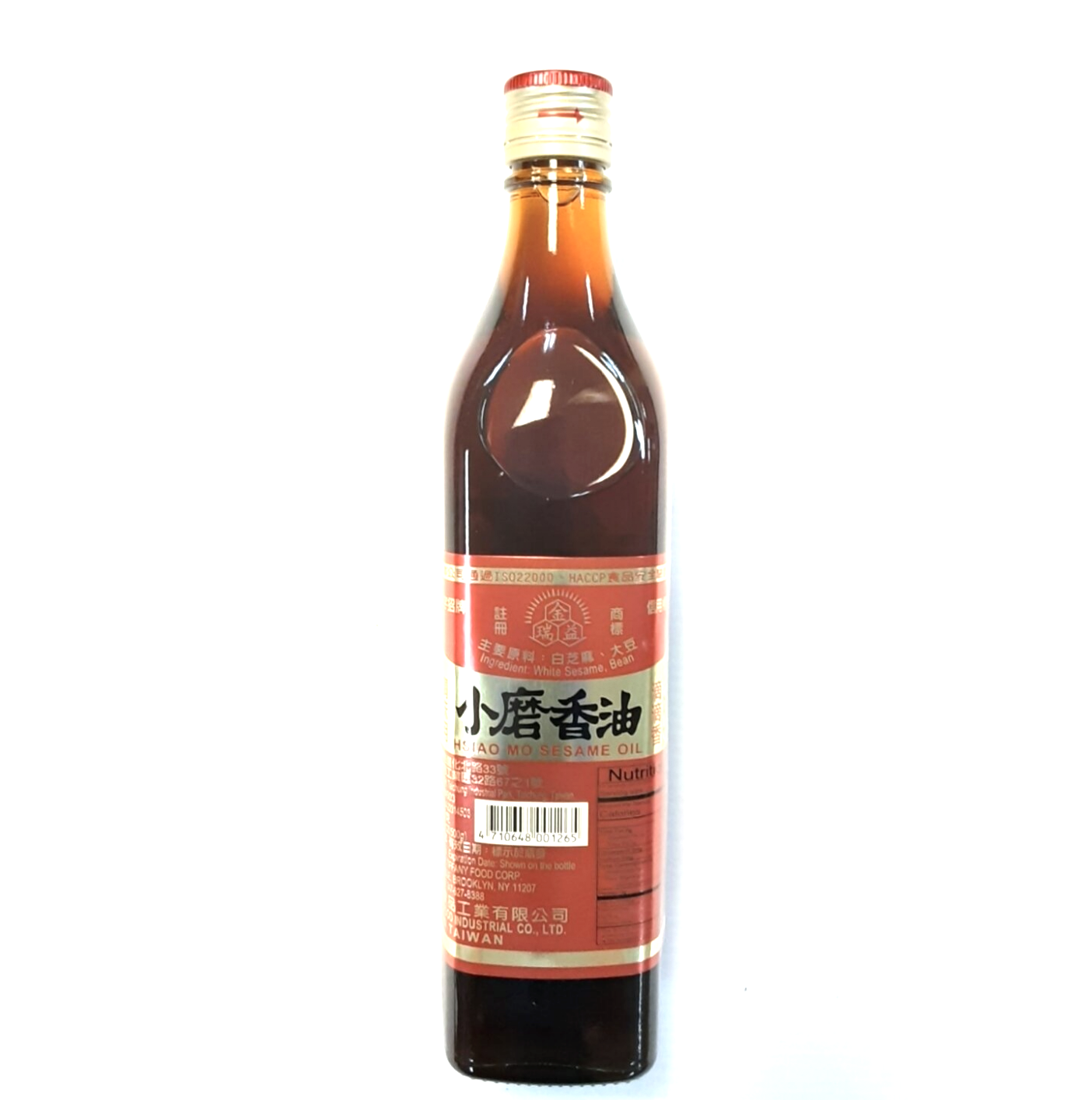GROC【杂货】金润益调味用小磨香油