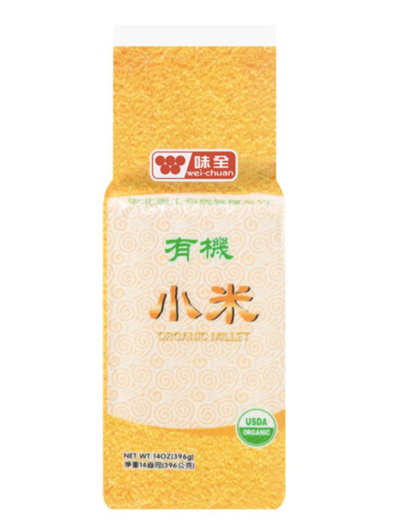 GROC【杂货】味全有机小米 ~396g(14oz)