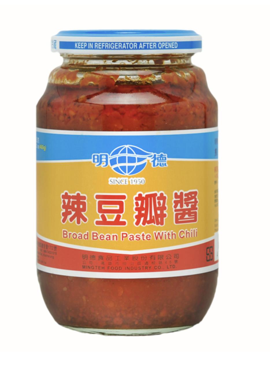 GROC【杂货】明德 辣豆瓣酱 纯素 ~460g(16.2oz)