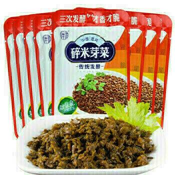 GROC【杂货】中国宜宾 碎米芽菜 传统发酵 ~230g