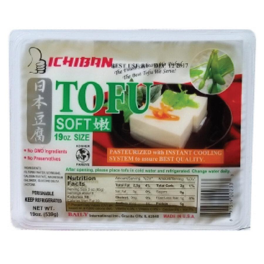 ❄一级棒豆腐(嫩) ICHIBAN TOFU SOFT 397g(14 oz)