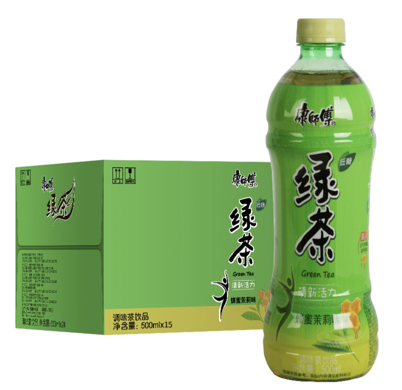 GROC【杂货】康师傅绿茶 500ml x 15