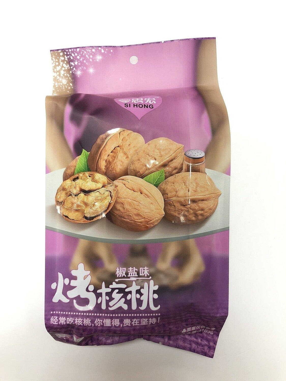 GROC【杂货】思宏烤核桃椒盐味~418g