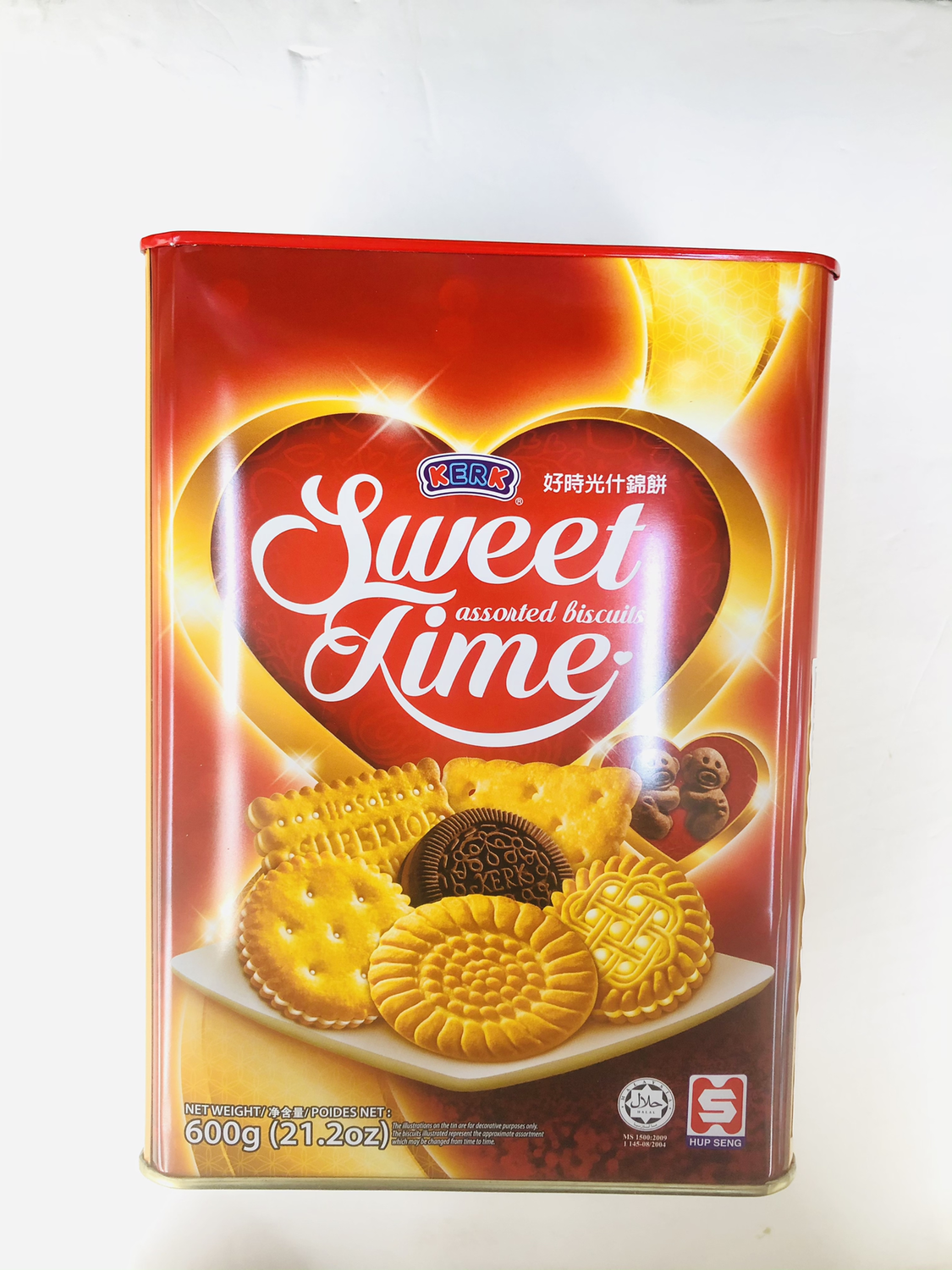 KERK 甜蜜时光什锦饼 Sweet Time Assorted Biscuits 600g(21.2oz)