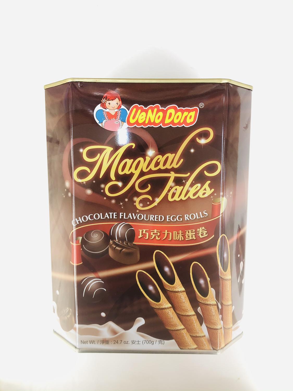 GROC【杂货】UeNo Dora 巧克力味蛋卷 24.7oz(700g)