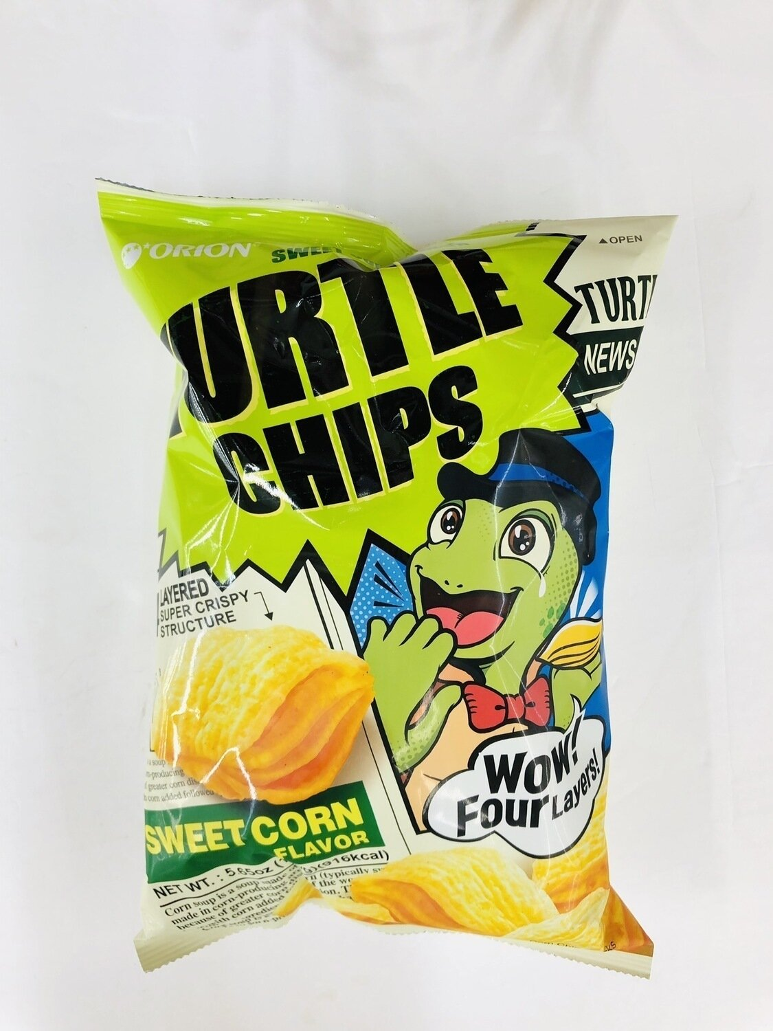 GROC【杂货】TURTLE CHIPS SWEET CORN FLAVOR~5.65OZ