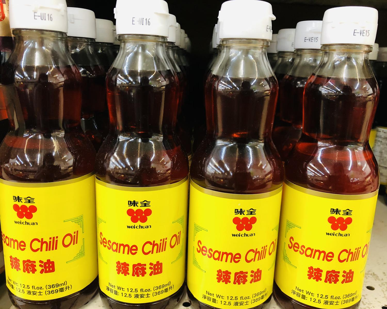 GROC【杂货】味全 辣麻油 12.5fl.oz.(369ml)