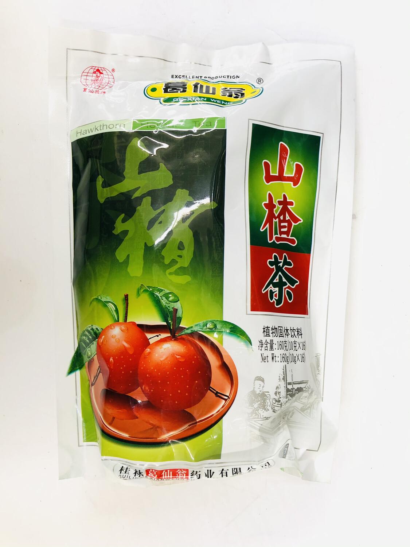 GROC【杂货】葛仙翁 山楂茶 160g(10gX16)