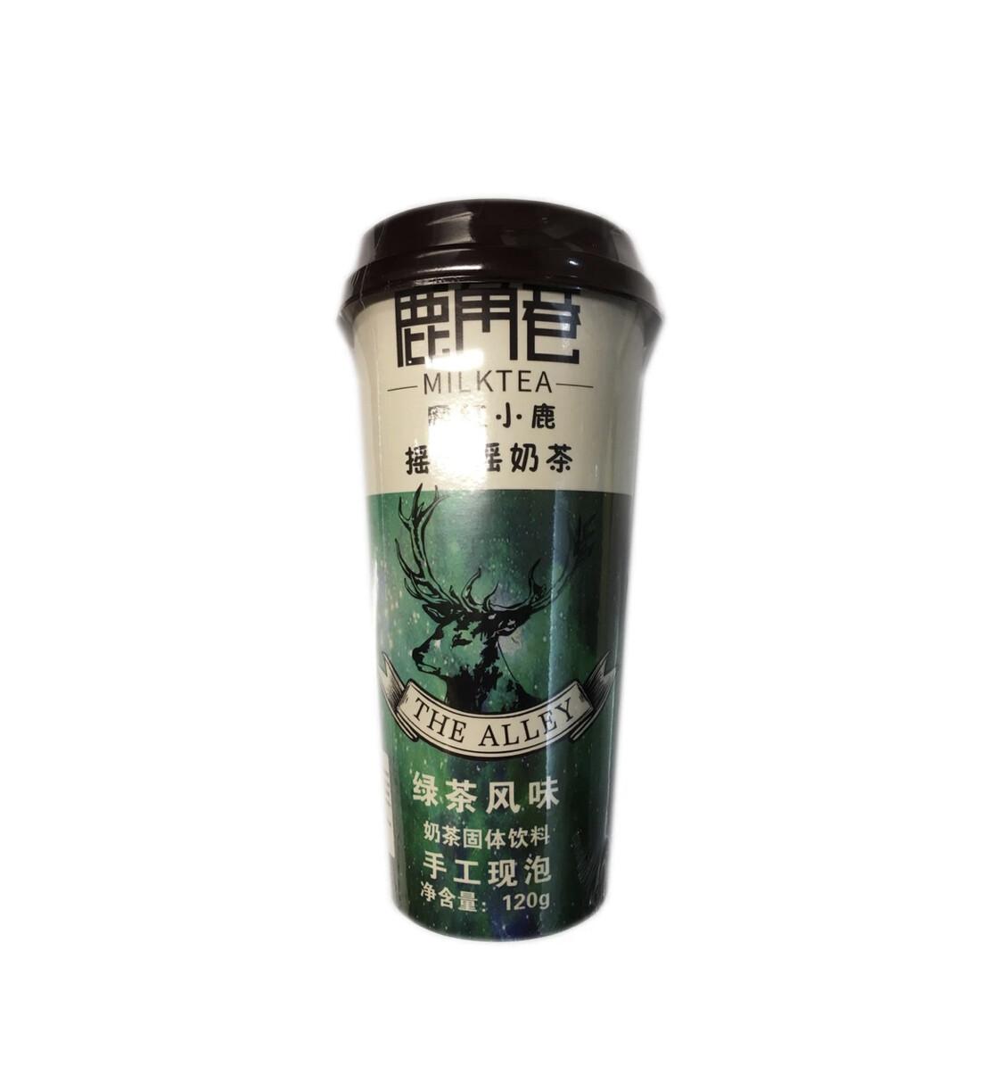 GROC【杂货】鹿角巷 网红小鹿摇一摇奶茶 绿茶风味 120g
