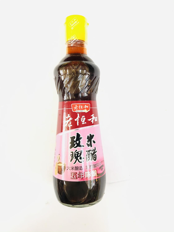 GROC【杂货】老恒和 玫瑰米醋 (五年陈酿) 500ml
