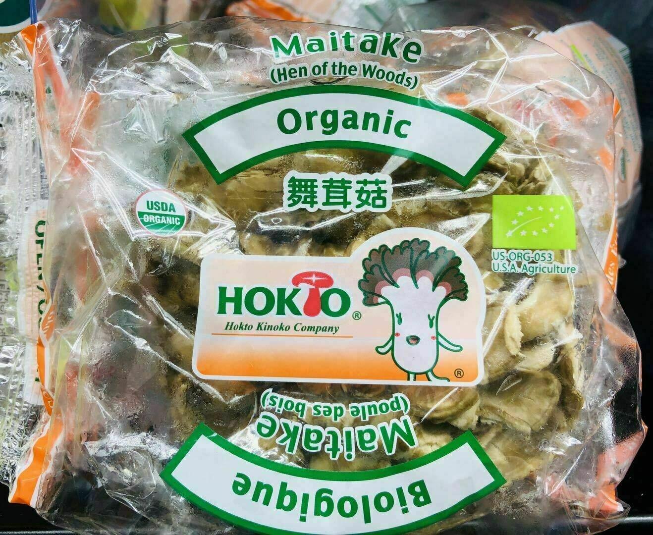 HOKTO有机舞茸菇~1包 ORGANIC MAITAKE MUSHROOM 1pk