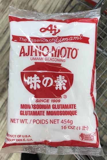 日本味素 Aj MONOSODIUM GLUTAMATE 454g (16 oz)(1lb)