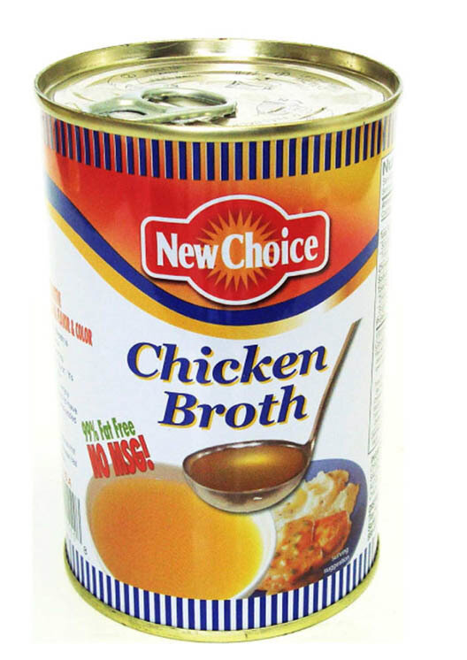 New Choice Chicken Broth New Choice Chicken Broth 396g (14 oz)