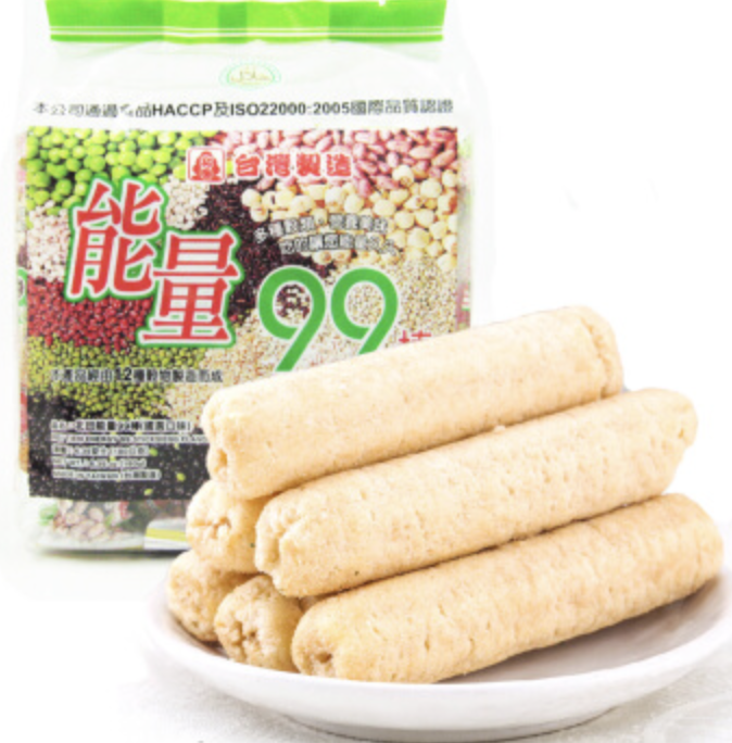 能量99棒 蛋黄味 PEITIEN ENERGY 99 STICKS (EGG YOLK FLAVOR) 180g (6.35 oz)