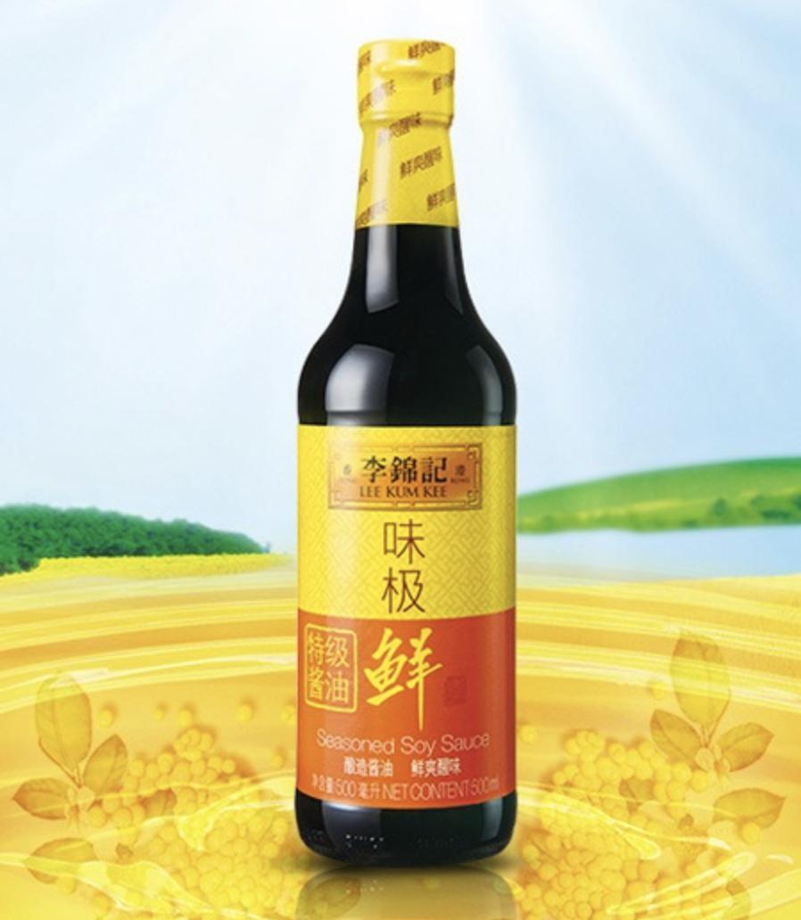 李锦记味极鲜特级酱油 LEE KUM KEE SEASONED SOY SAUCE 500ml(16.9 fl oz)
