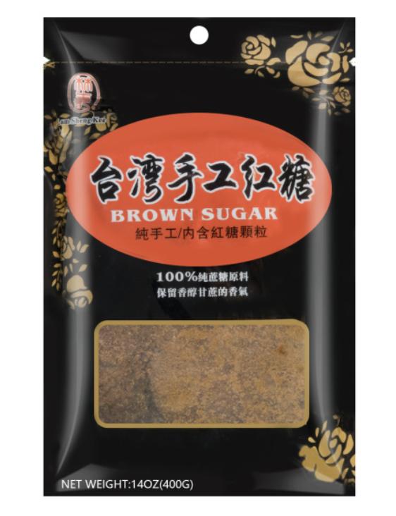 林生记台湾手工红糖 Lam Sheng Kee BROWN SUGAR 400g (14 oz)