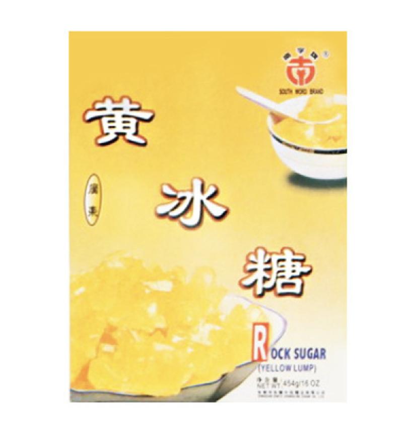 南字牌广东黄冰糖 South Word Brand Rock Sugar (Yellow Lump) 400g (14 oz)