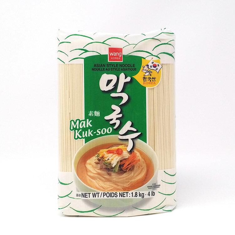 WANG KOREA素面(细面) WANG KOREA ASIAN STYLE NOODLE 1.81kg(4 lb/64 oz)