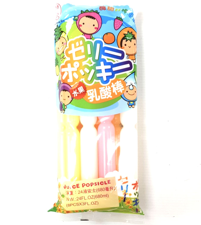 林生记水果乳酸棒 ~680ml(24FL.OZ) Lam Sheng Kee Juice POPSICLE 680ml(24FL.OZ)