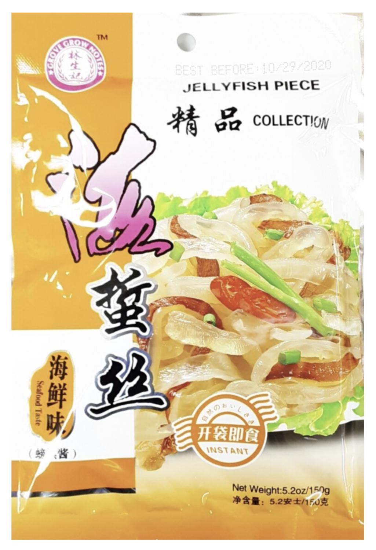 林生记海蜇丝 海鲜味 ~150g(5.2oz) Lam Sheng Kee JELLYFISH PIECE SEAFOOD TASTE 150g (5..2oz)