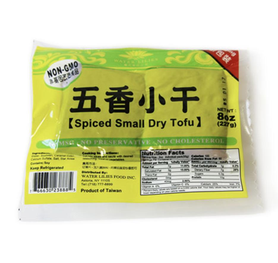 ❄五香小干 ~227g(8oz) Spiced small dry tofu 227g(8oz)