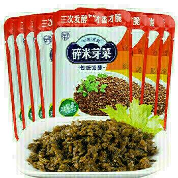 中国宜宾 碎米芽菜 传统发酵 ~230g Sichuan Yibin SuiMiYaCai ~230g