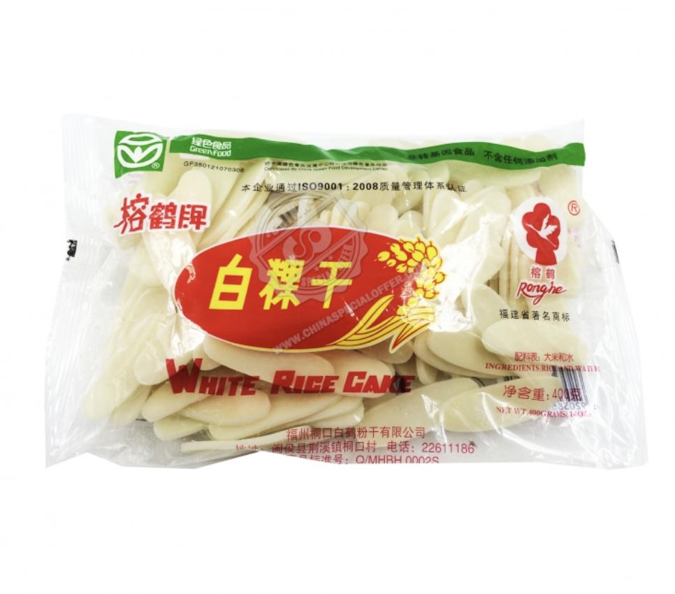 榕鹤牌 白粿干 ~400g Ronghe WHITE RICE CAKE ~400g