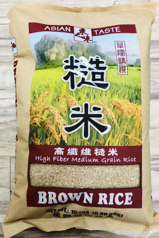 东之味糙米 ~15lb Asian Taste Brown Rice ~15lb