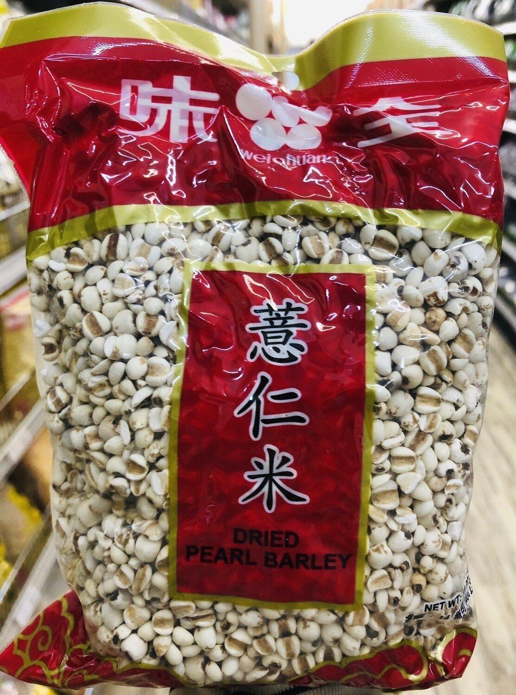 味全薏仁米 weichuan DRIED PEARL BARLEY ~14OZ(400g)
