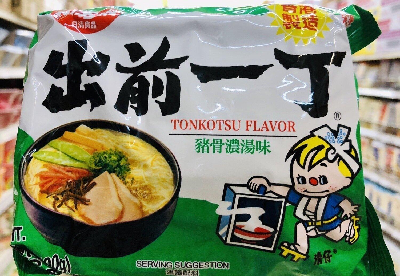 日清食品 出前一丁猪骨浓汤味 NISSIN TONKOTSU FLAVOR~3.53oz(100g)