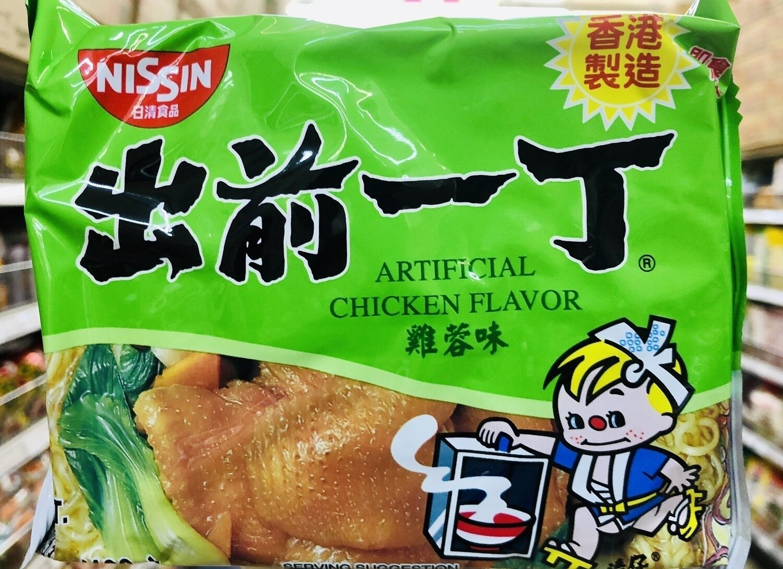 日清食品 出前一丁鸡蓉味 NISSIN ARTIFICIAL CHICKEN FLAVOR~3.53oz(100g)