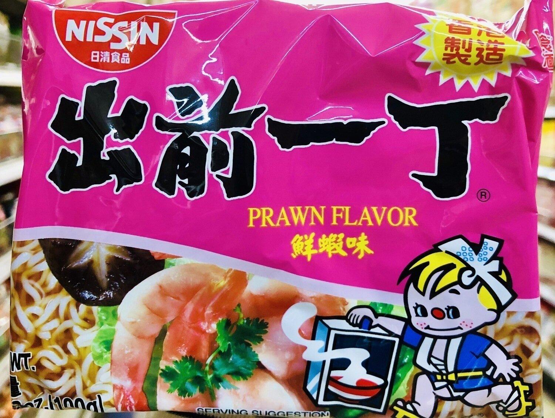 日清食品 出前一丁鲜虾味 NISSIN PRAWN FLAVOR ~3.53oz(100g)