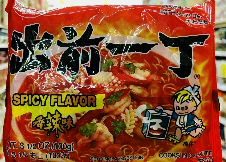 日清食品 出前一丁香辣味 NISSIN SPICY FLAVOR~3.53oz(100g)