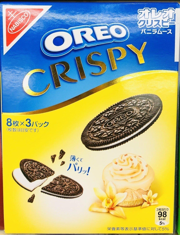 OREO奥利奥香草巧克力味 OREO CRISPY~8pc*3