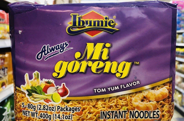 Ibumie冬阴汤口味 Ibumie Mi goreng TOM YUM FLAVOR~5-80g(2.82oz)Packages
