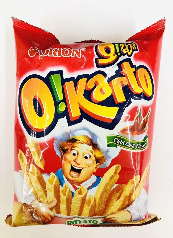 ORION辣椒口味 ORION OIKARTO Cream Cheese flavor~1.76oz